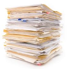 paperwork stack